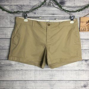 Old Navy Cotton Khaki Shorts Size 14